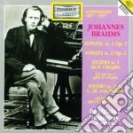 SONATE X PF NN. 1 E 2, STUDII X PF NN.1 cd musicale di Johannes Brahms