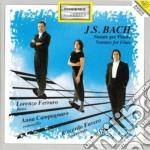Bach Johann Sebastian - Sonate Per Flauto Bwv 1030, 1031, 1032, 1033, 1034, 1035 cd musicale di Johann Sebastian Bach