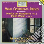OPERE X PF VOL.3 (INTEGRALE): PEDRIGOTTA cd musicale di Tedesco Castelnuovo