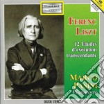 Liszt Franz - Dodici Studi Trascendentali cd musicale di Franz Liszt