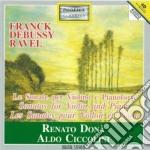 SONATA X VL, SONATA X VL POSTUMA cd musicale di Maurice Ravel