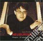 Chopin Fryderyk - 12 Studi Op.10, 12 Studi Op.25, Trois Nouvelles Etudes cd musicale di Fryderyk Chopin
