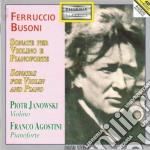 Busoni Ferruccio - Sonate Per Violino Op.29 E 36/a, Albumblatt cd musicale di Ferruccio Busoni