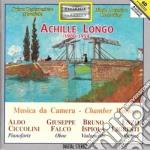 Longo Achille - Trio Per Violino, Violoncello E Pianoforte, Sonata Per Violoncello E Pianoforte cd musicale di Achille Longo