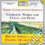 OPERE X VLC E PF (INTEGRALE) cd musicale di Tedesco Castelnuovo