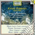 Porrino Ennio - Musica Da Camera Per Pianoforte cd musicale