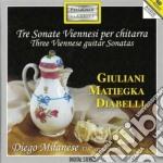 Giuliani Mauro - Tre Sonate Viennesi Per Chitarra - Sonata In Do Maggiore Op.15 cd musicale di Mauro Giuliani