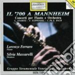 CONCERTO X FL N.3 (IN RE MIN) cd musicale di BACH CARL PHILIP EMA