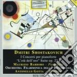 Sciostakovic Dmitri - Concerto N.1 Op.35, Concerto N.2 Op.102, L'eta' Dell'oro, Suite Op.22a cd musicale di Dmitri Sciostakovic