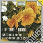 Nardi Gregorio - Loeffelholz-lieder cd musicale