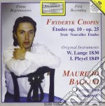 Chopin Fryderyk - Studi Op.10, Op.25, 3 Nouvelles Etudes cd musicale di Fryderyk Chopin