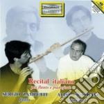 RECITAL ITALIANO PER FLAUTO E PIANOFORTE cd musicale