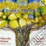 Darius Milhaud - Sonate N.1 E N.2 Per Viola E Pianoforte, 4 Visages, Danses De Jacaremirim cd musicale di Darius Milhaud