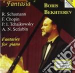 FANTASIE X PIANO cd musicale di Robert Schumann