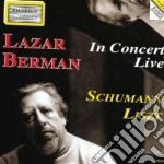 Liszt Franz - Lazar Berman - In Concert Live: Sonata Per Pianoforte N.1, Les Funerailles cd musicale