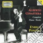 OPERE PER PIANOFORTE (INTEGRALE) cd musicale di Alberto Ginastera