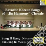 Favourite Korean Songs Of Jin Harmony Chorale cd musicale