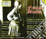 CONCERTO PER PIANOFORTE E QUARTETTO D'AR cd musicale di Ferruccio Busoni