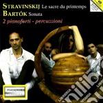 SAGRA DELLA PRIMAVERA (PER 2 PIANOFORTI   cd musicale di Igor Stravinsky