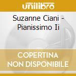 Pianissimo ii cd musicale di Suzanne Ciani