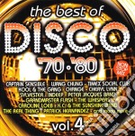 THE BEST OF DISCO 70/80 VOL.4 cd musicale di ARTISTI VARI