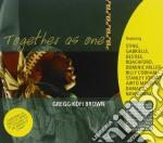 TOGETHER AS ONE cd musicale di BROWN GREGG KOFI