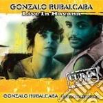 Gonzalo Rubalcaba - Live In Havana cd musicale di RUBALCABA GONZALO