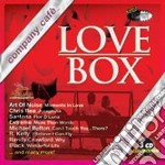 LOVE BOX  -  BY RADIO COMPANY CAFE' (BOX 3CD) cd musicale di ARTISTI VARI
