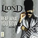 Lion D - Reap What You Sow cd musicale di D Lion