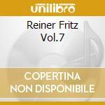 REINER FRITZ VOL.7 cd musicale