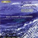 Musica Per Due Clarinetti E Piano Dell'900 /recitel Ensemble: Sergio Dispensa Cla, Stefano Carsi Cla, Fabiola Battaglini Pioano. cd musicale