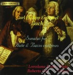 Bach Carl Philipp Emanuel - Sonate Per Flauto E Basso Continuo /loredana Boito Flauto, Roberto Gri Basso Continuo. cd musicale di BACH CARL PHILIP EMA