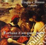 Fortuna D'un Gran Tempo - Musica Rinascimentale Lombardo Veneta. /elegia E Danza Ensemble cd musicale