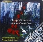 Gaubert Philippe - Musica Per Flauto E Piano /claudio Montafia Flauto, Franca Bertoli Piano. cd musicale di Philippe Gaubert