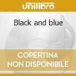 Black and blue cd musicale