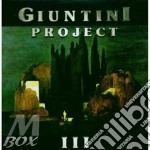 III cd musicale di GIUNTINI PROJECT
