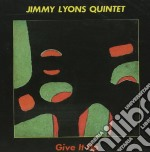Give it up cd musicale di Jimmy lyons quintet