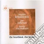 THE HEARTBEAT,THE BREATH cd musicale di Landon Knoblock
