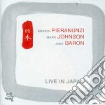 LIVE IN JAPAN cd musicale di Pieranunzi-johnson-baron