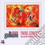 PARIS CONCERT                             cd musicale di Richard Galliano
