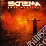Extrema - Set The World On Fire cd musicale di EXTREMA