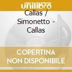 Arie da opere cd musicale di Maria Callas