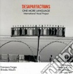 ONE MORE LANGUAGE cd musicale di DESPARTACTIONS