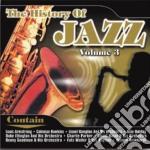 History of jazz vol 3 cd musicale di Artisti Vari
