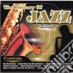 History of jazz vol 4 cd musicale di Artisti Vari