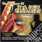 History of jazz vol 5 cd musicale di Artisti Vari