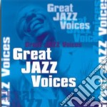 Great jazz voices cd musicale di Artisti Vari
