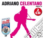 Tribute To Adriano Celentano (2 Cd) cd musicale