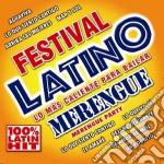 Festival latino merengue cd musicale di Artisti Vari