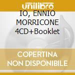 IO, ENNIO MORRICONE 4CD+Booklet cd musicale di MORRICONE ENNIO